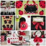 Classroom Decor Lovely Ladybugs - Full Collection