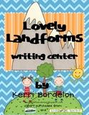 Lovely Landforms Writing Center