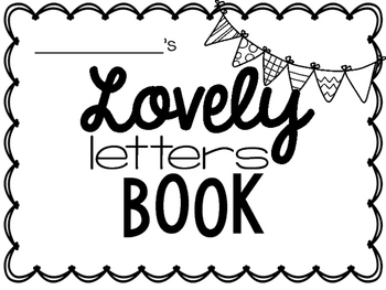 Lovely Letter Handwriting Book