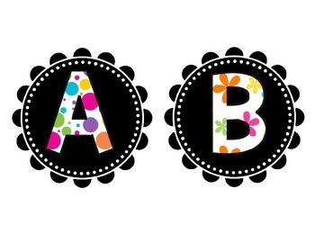 Lovely Letter Labels
