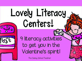 Lovely Literacy Centers