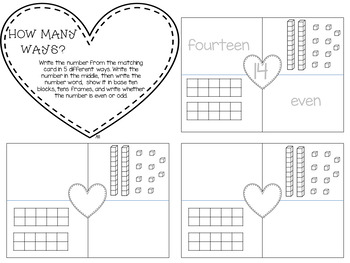 Lovely Valentine Literacy and Math Centers