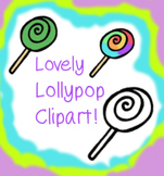 14 Lovely Lollypops clipart - personal or commercial use