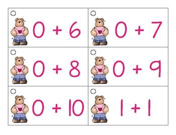 Valentines Math Facts