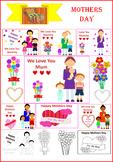 Lovely Mothers Day Clipart (Australian wording)