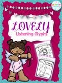 Lovely Music Listening Glyphs