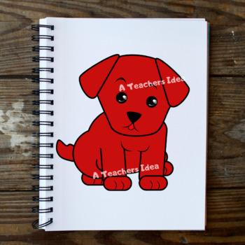 Lovely Puppy Clip Art Set for Teachers