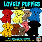 Cute Puppy   Cute Dog Clip Art for Personal and Commercial Use