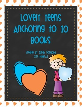 Lovely Teens Anchor to 10 Teens Book