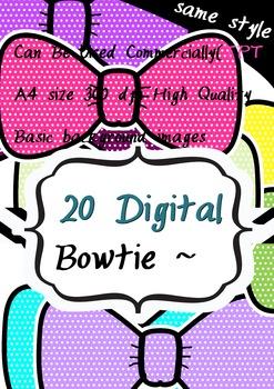 2016 Lovely bowtie 20 CLIPART 300 dpi