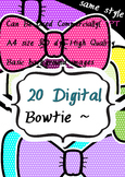 2016 Lovely bowtie 20 CLIPART 300 dpi