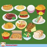 Lovely food clip-art set