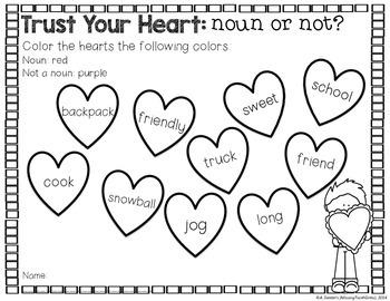 Lovestruck with Literacy {Valentine's Day Word Work Literacy Activities}