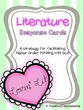 Lovin' Lit: Literature Response Cards