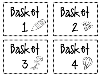 Lovin' Literacy Centers Packet!  All You Need to Organize Your Centers