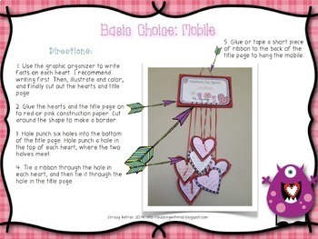 Lovin' Literacy: Valentine's Day Differentiated Research Mini-Projects