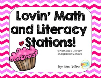 Lovin' Math and Literacy Centers FREEBIE