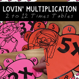 Lovin' Multiplication Hearts {Flip Flap Fun}