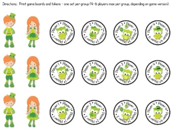 Whoooo Can Beat the Leapin' Leprechaun? - An Interval Board Game