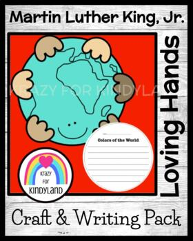 Loving Hands Around the World Craft and Writing (Martin Luther King, Jr.)
