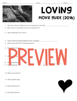 Loving Movie Guide (2016) Based on the Loving v. Virginia Supreme Court Case