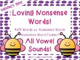 Loving Nonsense Words- Valentine's Day Theme! NWF