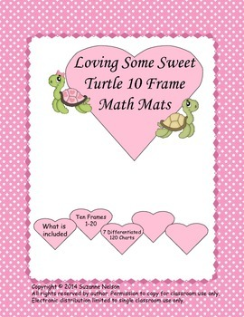 Loving Some Sweet Turtle 10 Frame Mats