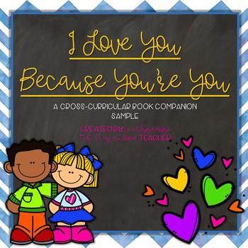 I Love You Because You're You - Book Companion & Enrichment SAMPLE