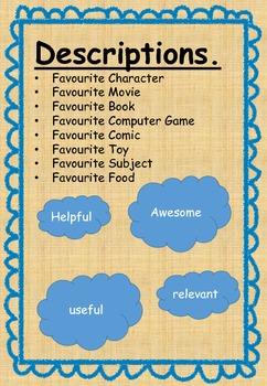 Adjectives: Fun Description templates