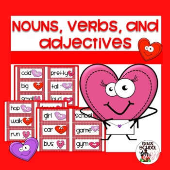 Loving nouns, verbs, and adjectivies