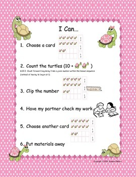 Loving the Teen Numbers Clip Cards