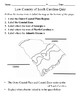 Low Country of South Carolina Quiz with Answer Key