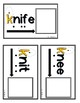 Low Frequency Spelling 'Ghost Letter' Task Cards [Task Box]