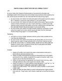 Speech Therapy-Low Functioning Student IEP goals and objectives