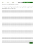 Low Intermediate Writing Diagnostic