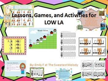 Low La Lessons, Activities, and Games