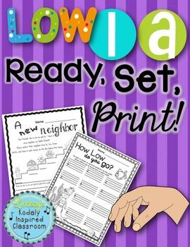 Low La {Ready Set Print!}