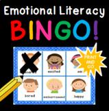Low Level Emotional Literacy/Vocabulary BINGO LOW PREP