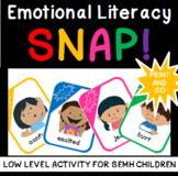 Low Level Emotional Literacy/Vocabulary SNAP LOW PREP
