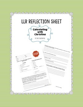 Low Level Referral Reflection Form
