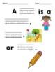 Low / Modified Nouns & Verbs Unit – Includes Plan, Activit