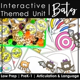No Prep Bat Activities: Speech and Language Therapy