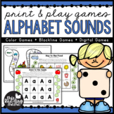 Print & Play Alphabet Sounds Games