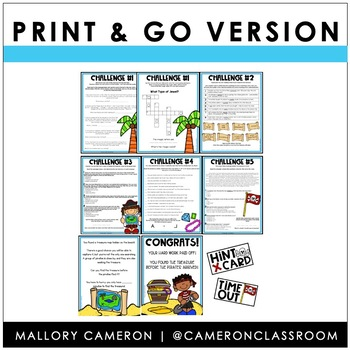 Print & Go Escape Room BUNDLE: Full Content Review