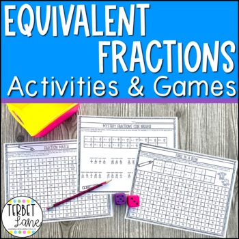 Equivalent Fractions Practice Math Games