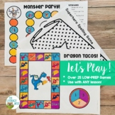 Low-Prep Game Boards with Editable Activity Templates