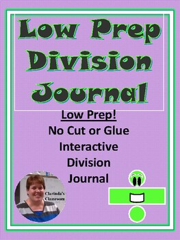 Low Prep Interactive Division Journal