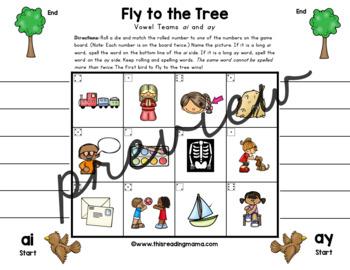 Print & Play Long Vowel Games