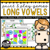 Low Prep Long Vowel Games