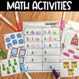 Low Prep Math Centers & Activities   Fractions   Place Val